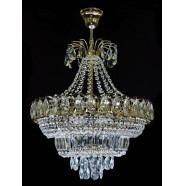 Хрустальная люстра Натали 5 ламп
