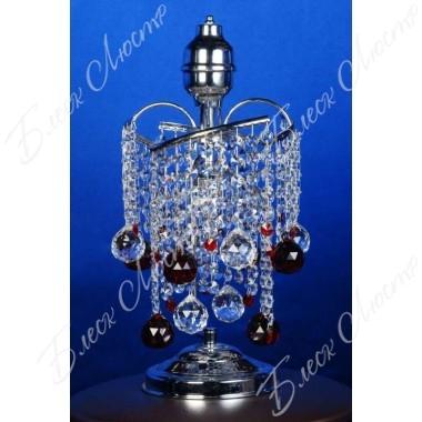 Настольная лампа виноград цветная