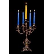 Бронзовый подсвечник 5 свечей