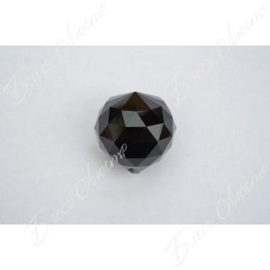 Хрустальный шар черный (40мм)