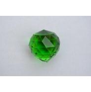 Хрустальный шар зеленый (40мм)