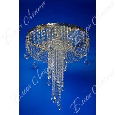 Люстра Анжелика-медуза хрусталь