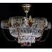 Потолочная люстра Ромашка 3 лампы цветная
