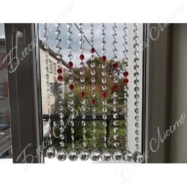 Хрустальные шторы 16