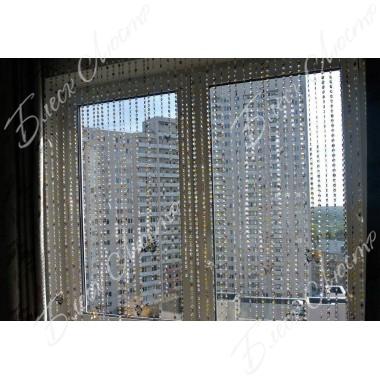 Хрустальные шторы 17